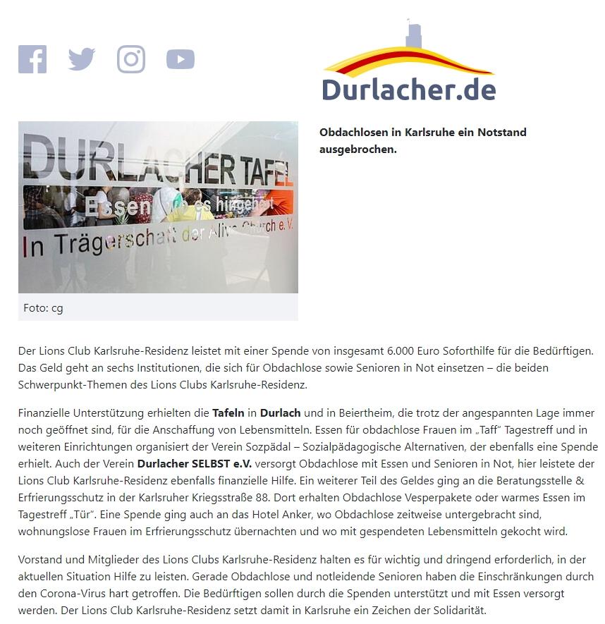 Kurier Karlsruhe Online